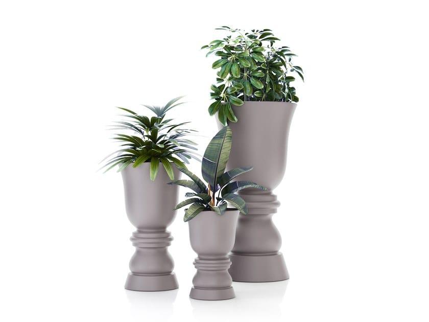 Round planter SUAVE   Planter by VONDOM