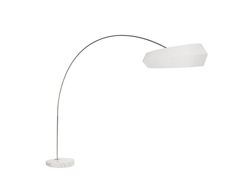 Silk arc lamp SUBLIME by Green Apple