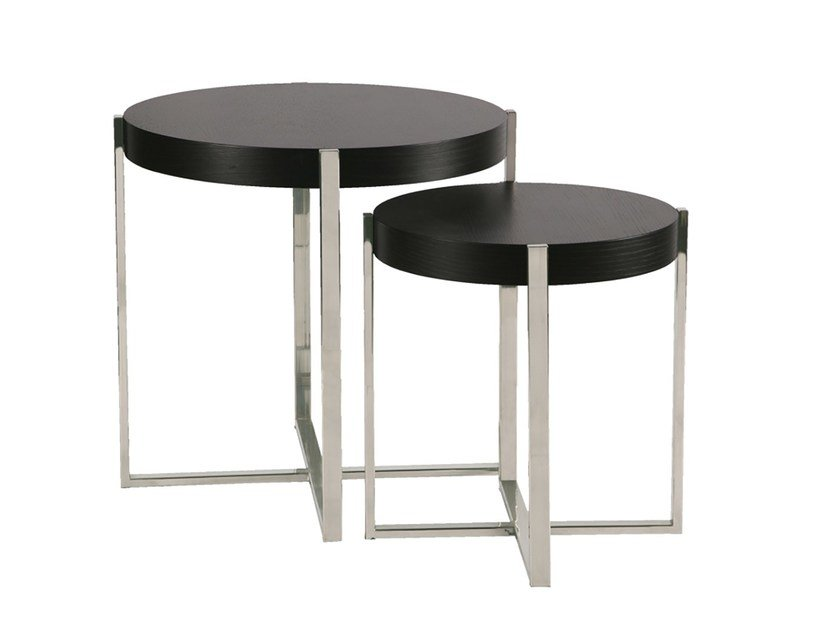 Round side table SUDOESTE | Side table by Branco sobre Branco