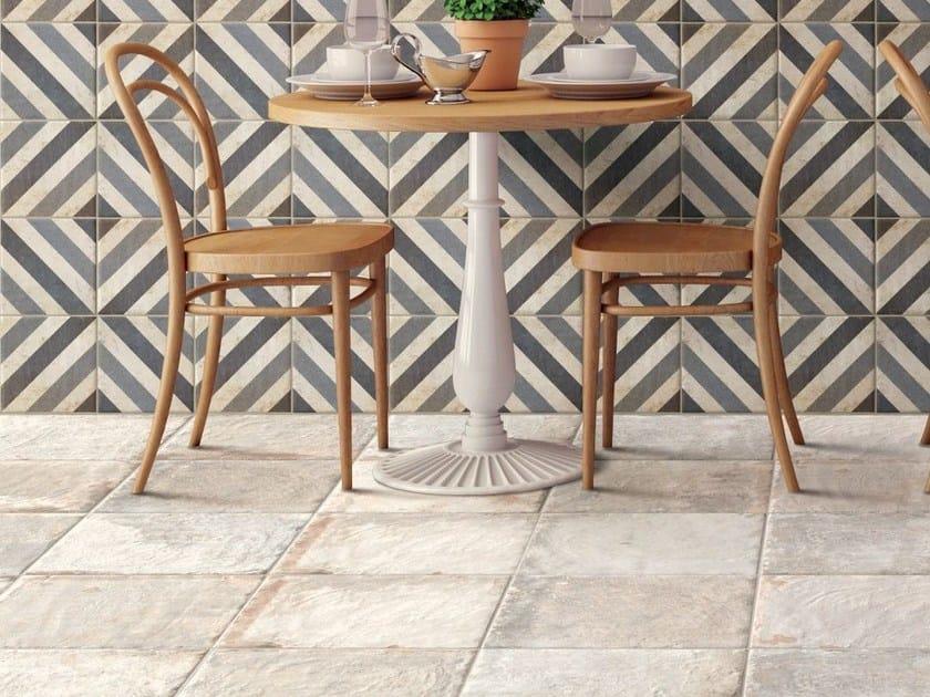 Pavimento in ceramica effetto cemento SUGAR CANE by CIR