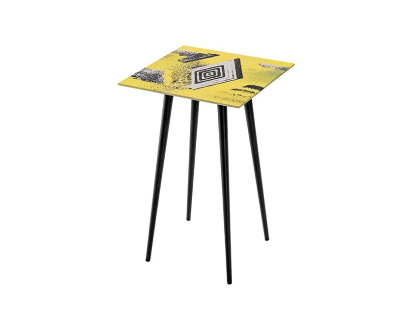Square MDF side table SUITABLE GL by Casamilano