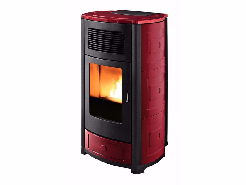 Pellet stove for air heating SUITE by MCZ GROUP