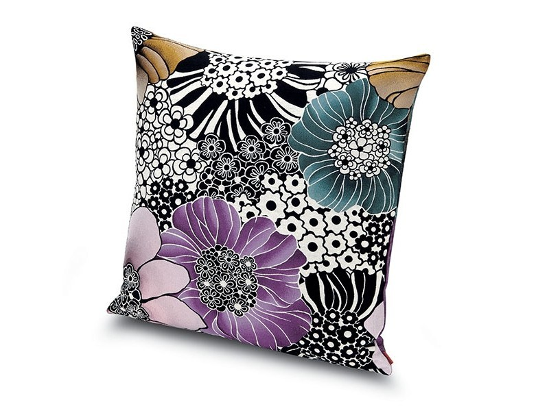 Square fabric cushion SULAWESI | Cushion by MissoniHome