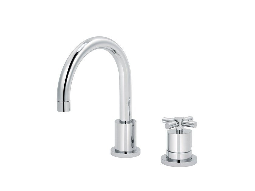 2 hole countertop washbasin mixer SULLY | 2 hole washbasin mixer by rvb