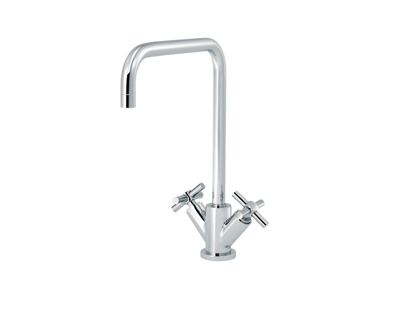 Countertop 1 hole kitchen mixer tap SULLY | Kitchen mixer tap by rvb
