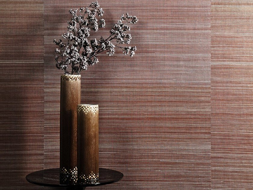 Natural fibre wallpaper SUMATRA ABACA by Omexco