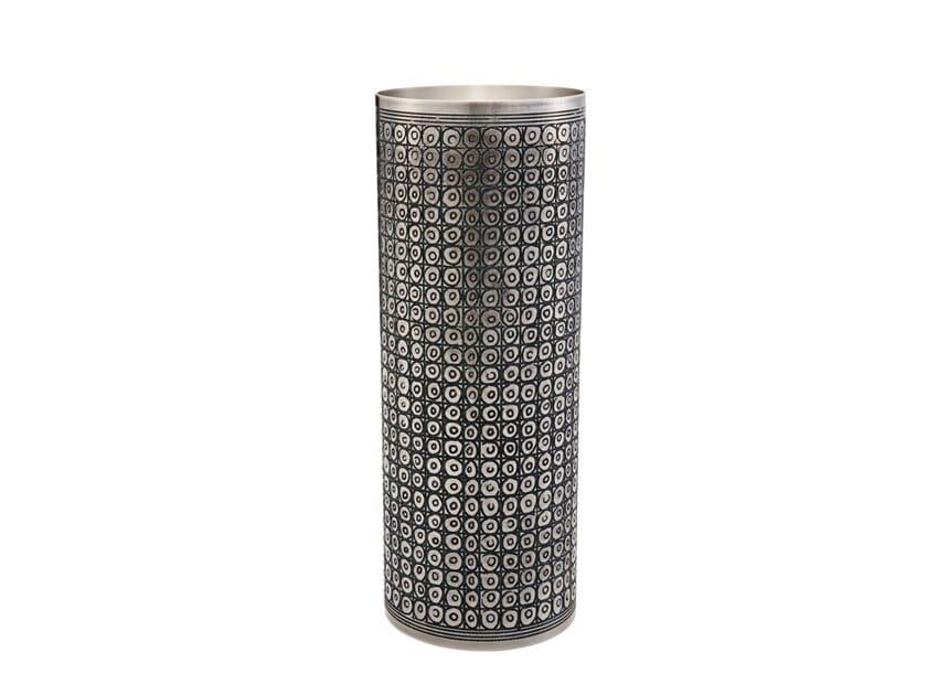 Silver vase SUMER by ZANETTO