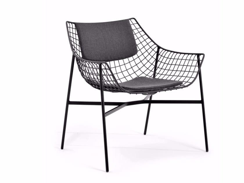 Garden Steel Easy Chair SUMMER SET | Easy Chair By Varaschin