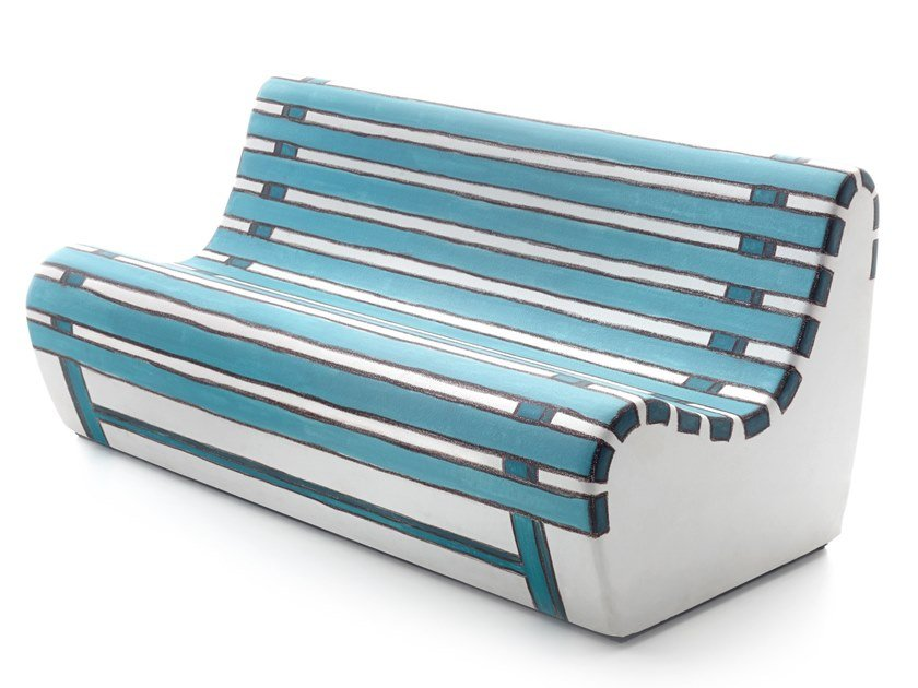 Polyurethane sofa SUMMERTIME by Gufram