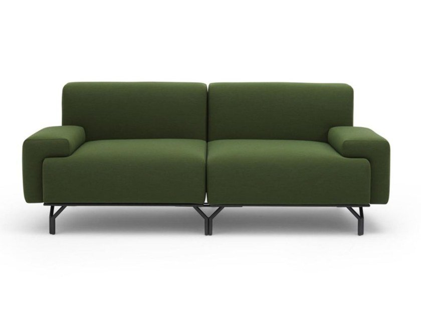 Fabric sofa with removable cover SUMMIT by Casamania & Horm