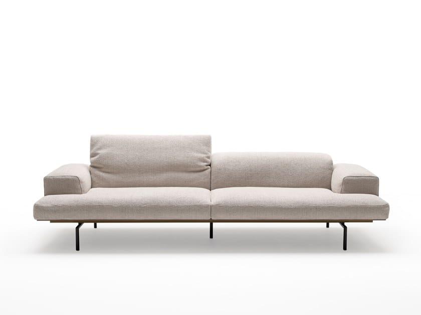 Fabric sofa SUMO   Fabric sofa by Living Divani