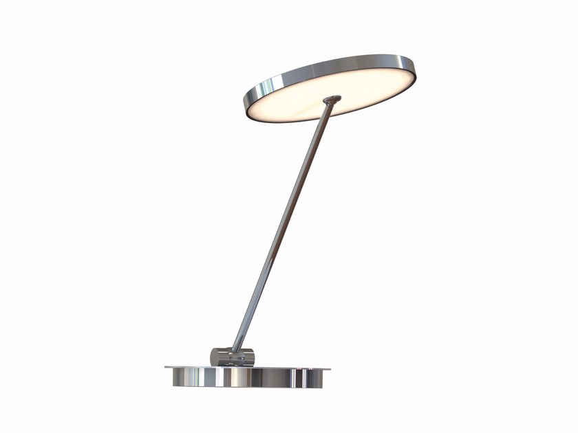 LED with swing arm table lamp with dimmer SUN TABLE OFFICE by Top Light