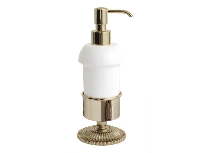 Liquid soap dispenser SUN | ceramic soap dispenser by GENTRY HOME