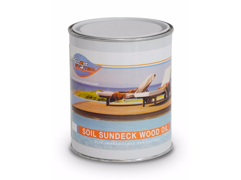 Wood protection product SUNDECK WOOD OIL by Tecsit System