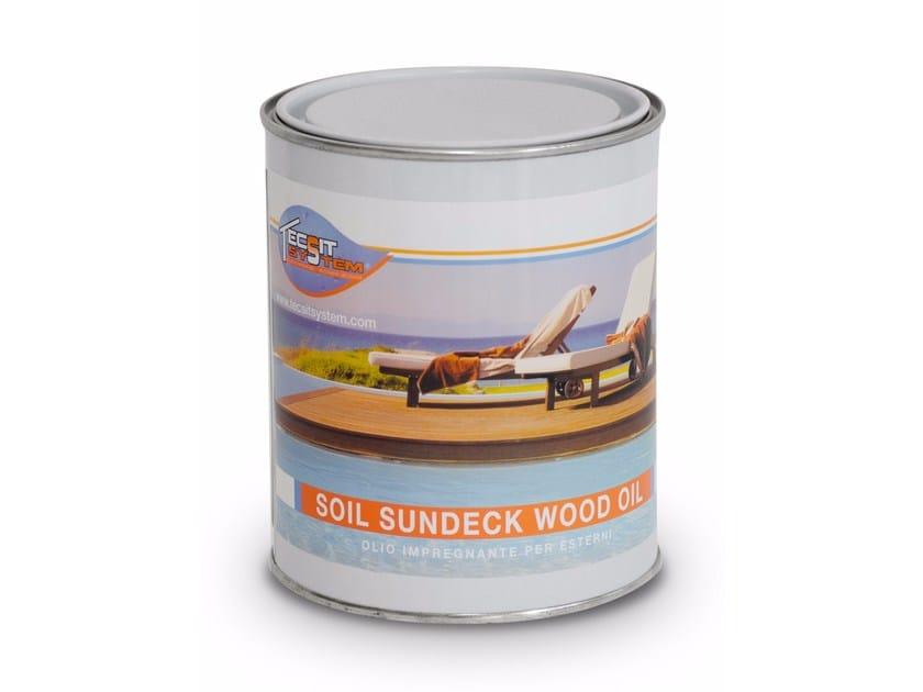 Prodotto per la protezione del legno SUNDECK WOOD OIL by Tecsit System