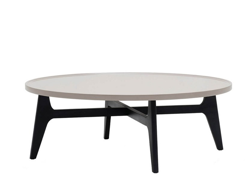 Round MDF coffee table SUNNY by HC28