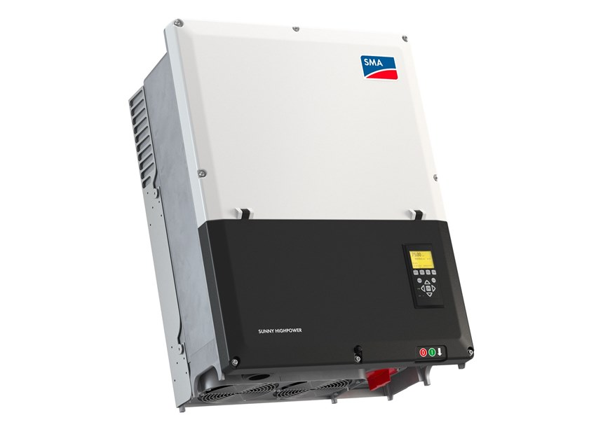 Inverter for photovoltaic system SUNNY HIGHPOWER PEAK1 by SMA