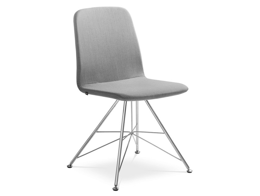 Upholstered fabric training chair SUNRISE 152-DE by LD Seating