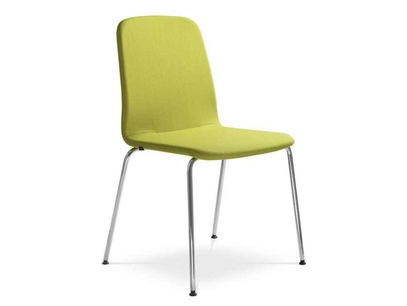 Stackable upholstered fabric training chair SUNRISE 152-N4 by LD Seating