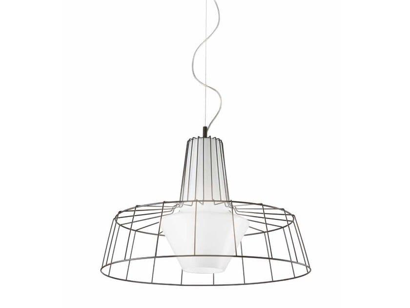 Murano glass pendant lamp SUNSET LS 611 by Siru