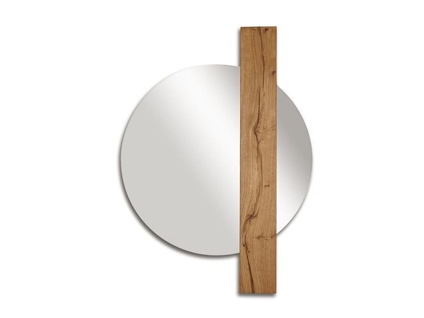 Round wall-mounted mirror SUNSET | Round mirror by ARKOF LABODESIGN