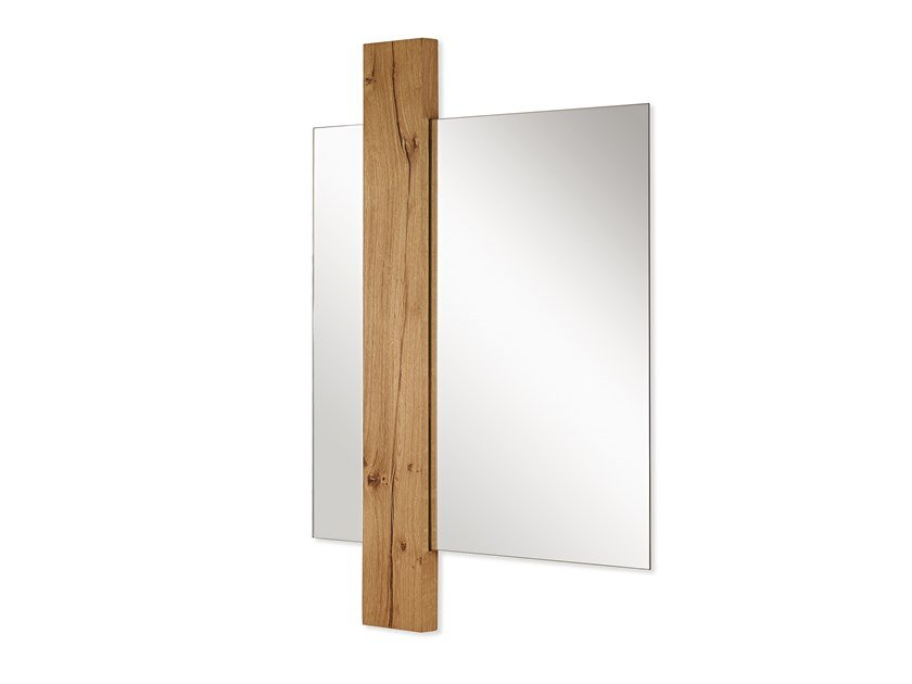Square wall-mounted mirror SUNSET | Square mirror by ARKOF LABODESIGN