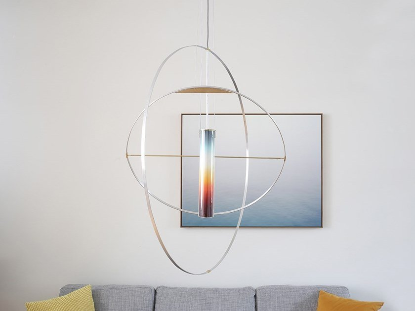 LED handmade pendant lamp SUNset by Studio Lieven
