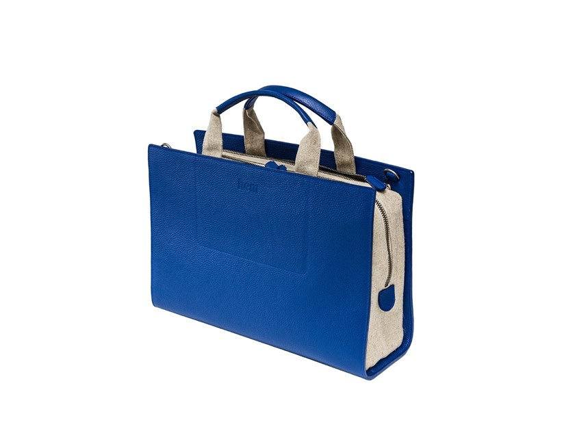 Borsa in pelle SUPER BAG BRIEFCASE by Hem