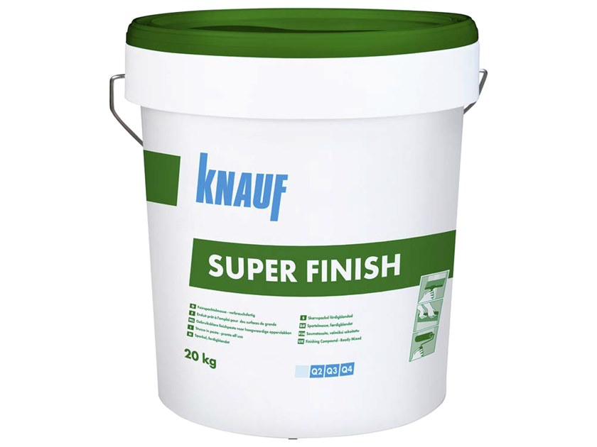 Gypsum and plaster SUPER FINISH by Knauf Italia