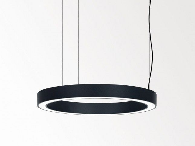 LED direct light pendant lamp SUPER-OH SBL by Delta Light