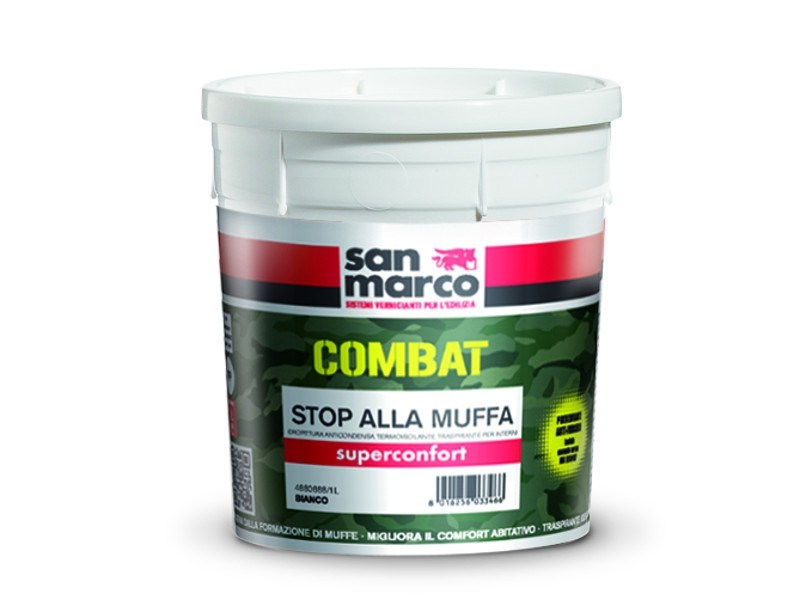 Breathable water-based paint SUPERCONFORT by San Marco