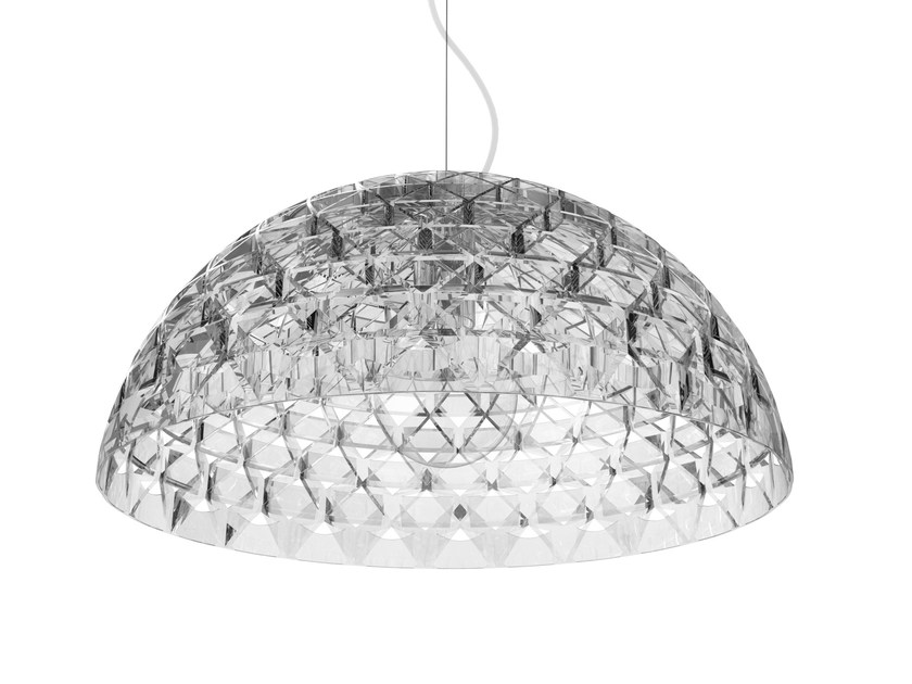 Polycarbonate pendant lamp SUPERFORM by Qeeboo