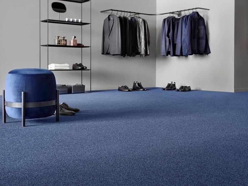 Solid-color polyamide carpeting SUPERIOR 1012 by Vorwerk Teppichwerke