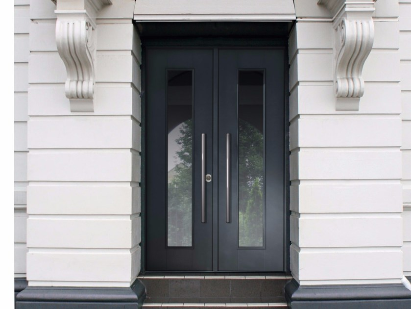 Lacquered glazed safety door SUPERIOR - 16.5002 M16 by Bauxt