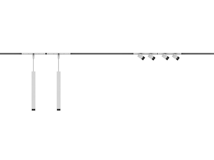 Illuminazione a binario in alluminio estruso SUPERRAIL by iGuzzini