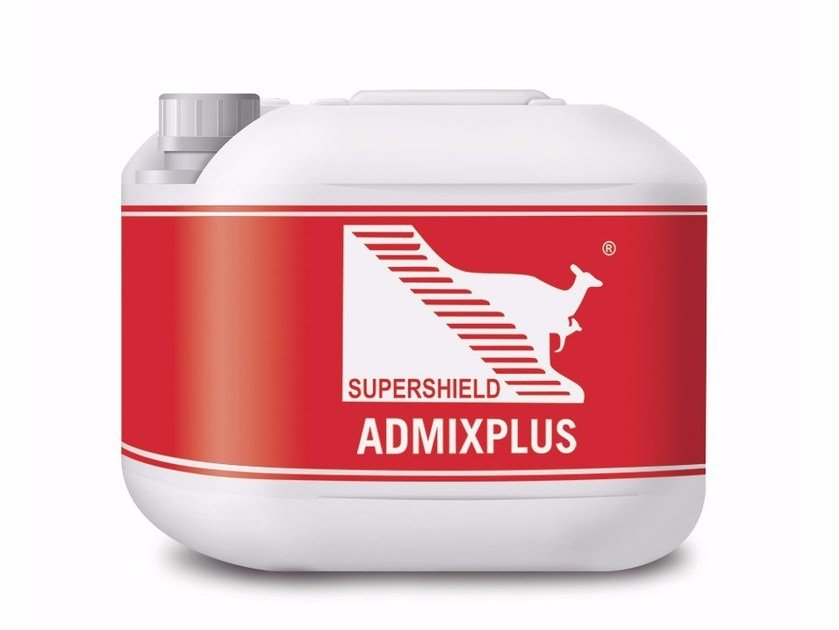 Water based chemical admixture for waterproofing SUPERSHIELD ADMIXPLUS by Supershield