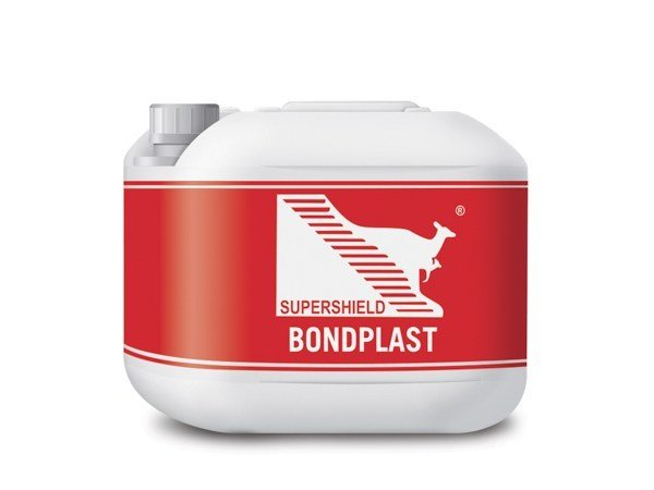 Multipurpose additive for cement-based mixes SUPERSHIELD BONDPLAST by Supershield