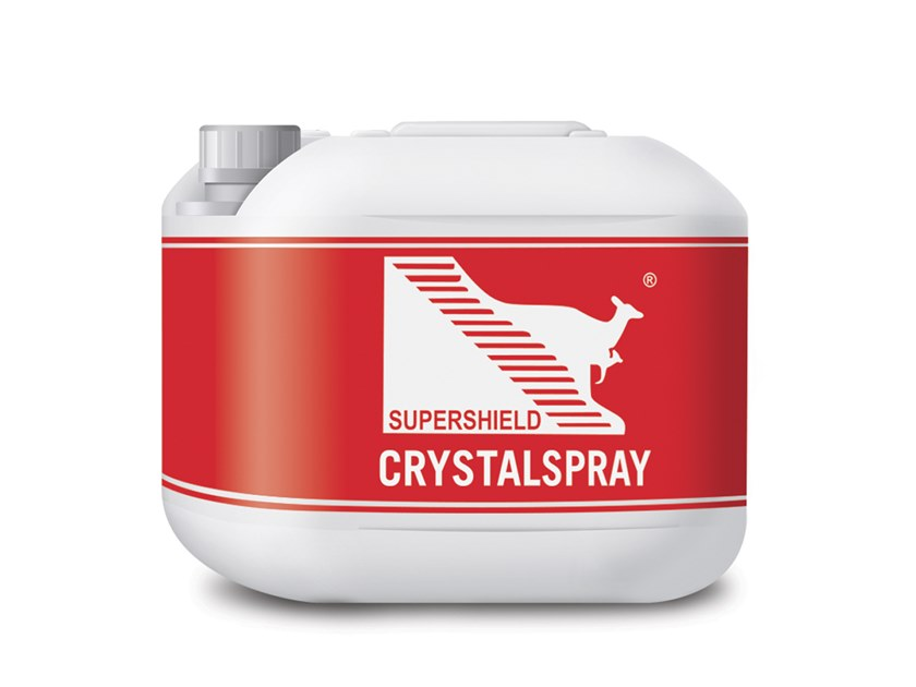Activator of hygroscopic crystals SUPERSHIELD CRYSTALSPRAY by Supershield