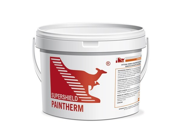 Transpiring thermal paint SUPERSHIELD PAINTHERM by Supershield
