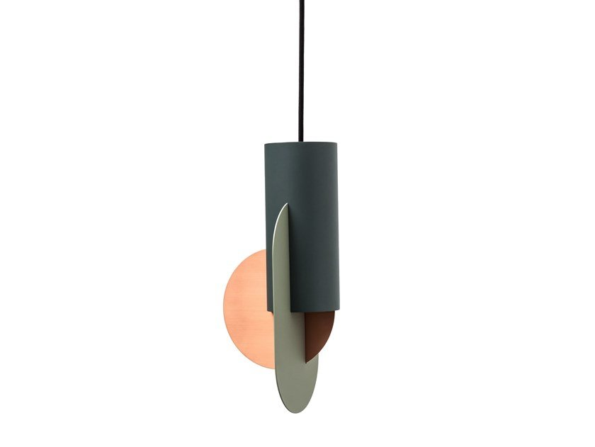 Metal pendant lamp SUPREMATIC THREE by NOOM
