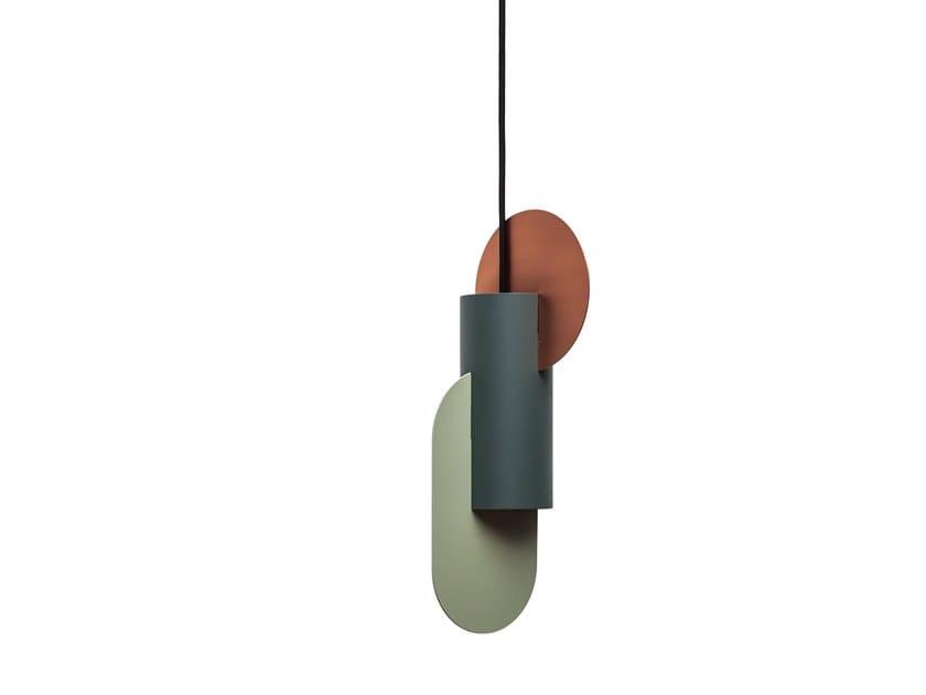 Metal pendant lamp SUPREMATIC TWO CS1 by NOOM