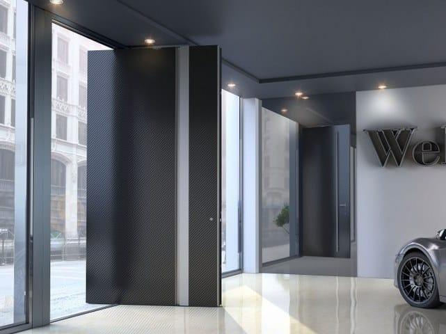 Porta d'ingresso a bilico SUPREME SD115 by Alumil