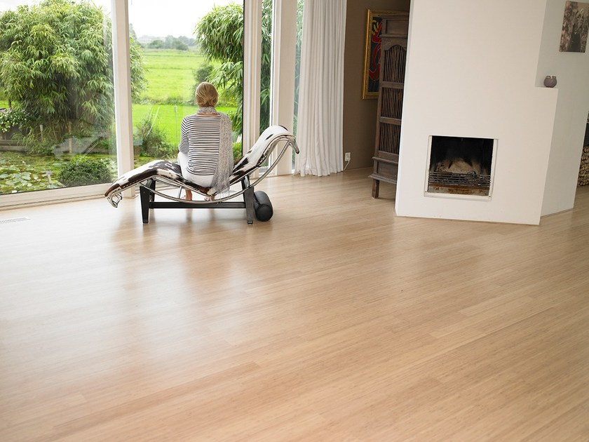 Bamboo flooring BAMBOO SUPREME SIDE PRESSED by Moso International