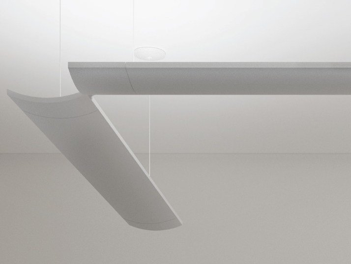 Extruded aluminium pendant lamp SURF SYSTEM | Pendant lamp by Artemide