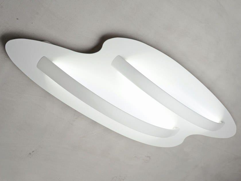 Lampada da soffitto a LED in alluminio verniciato a polvere SURFIN' | Lampada da soffitto by millelumen