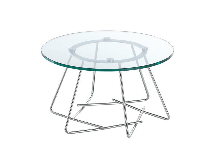 Glass coffee table SUSU | Glass coffee table by Caimi Brevetti