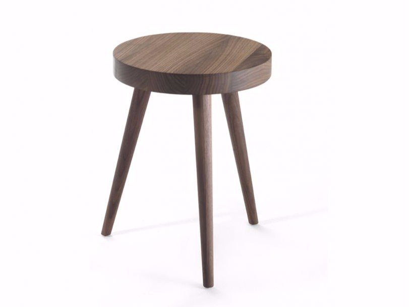 Round solid wood coffee table SUSY by Riva 1920