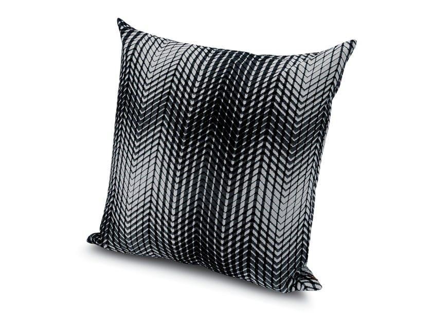 Square fabric cushion SUZUKA by MissoniHome