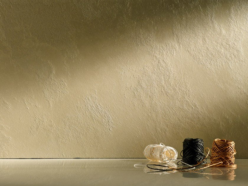 Dekorative Wandfarbe Mit Metallic Effekt Swahili Opaco By Novacolor