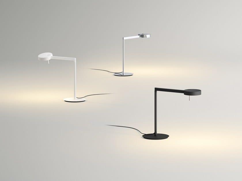 Direct light desk lamp SWING 0521 by Vibia